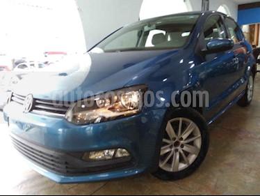 Foto venta Auto usado Volkswagen Polo 1.6L Base 5P (2018) color Azul precio $176,900
