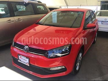 Foto venta Auto Seminuevo Volkswagen Polo 1.6L Base 5P (2017) color Rojo precio $179,000