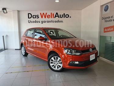 Volkswagen Polo 1.6L Base 5P usado (2018) color Naranja precio $229,000