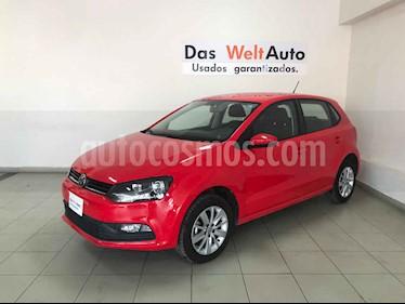 Foto venta Auto usado Volkswagen Polo 1.6L Base 5P (2018) color Rojo precio $186,141