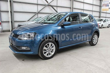 Foto venta Auto usado Volkswagen Polo 1.6L Base 5P (2018) color Azul precio $174,900
