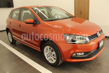 Foto venta Auto usado Volkswagen Polo 1.6L Base 5P (2018) color Naranja precio $219,000