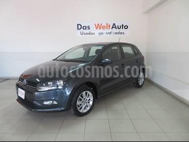 Foto venta Auto Seminuevo Volkswagen Polo 1.6L Base 5P (2018) color Gris precio $201,562