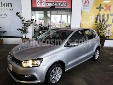 Foto venta Auto usado Volkswagen Polo 1.6L Base 5P (2017) color Plata precio $175,000