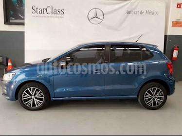 Foto venta Auto usado Volkswagen Polo 1.6L Base 5P (2017) color Azul precio $179,000