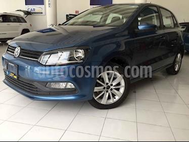 Foto venta Auto usado Volkswagen Polo 1.6L Comfortline 5P (2018) color Azul precio $168,900