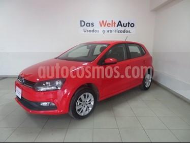 Foto venta Auto usado Volkswagen Polo 1.6L Comfortline 5P (2018) color Rojo precio $199,562