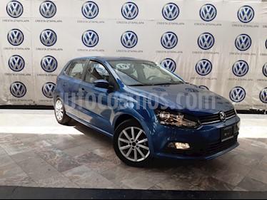 Foto Volkswagen Polo 1.6L Comfortline 5P usado (2019) color Azul precio $229,000