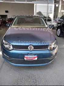 Foto venta Auto usado Volkswagen Polo 1.6L Comfortline 5P (2018) color Celeste precio $190,000