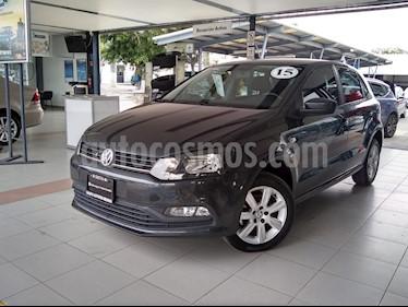 Foto venta Auto usado Volkswagen Polo 1.6L Comfortline 5P (2015) color Gris precio $155,000