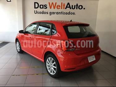 Foto venta Auto usado Volkswagen Polo 1.6L Comfortline 5P (2019) color Rojo precio $239,000