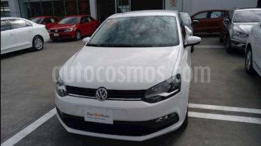 Volkswagen Polo 1.6L Comfortline 5P usado (2018) color Blanco precio $204,990
