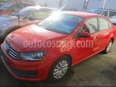 Foto venta Auto usado Volkswagen Polo  1.6L MSI Trendline  (2017) color Rojo precio $7.200.000
