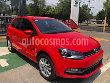 Volkswagen Polo 5p Design & Sound L4/1.6 Aut usado (2020) color Rojo precio $231,990