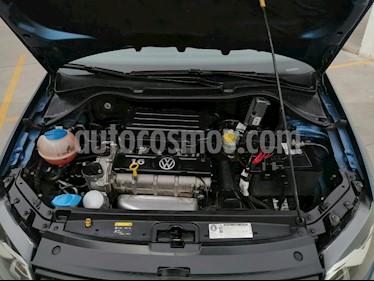 Volkswagen Polo 1.6L Base 4P usado (2018) color Azul precio $19,000