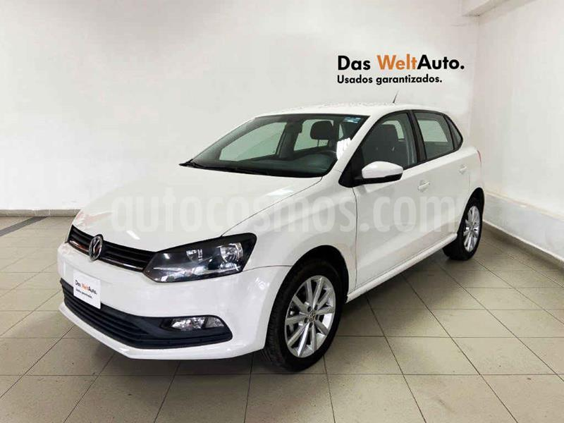 Volkswagen Polo Disign & Sound Tiptronic usado (2019) color Blanco precio $214,008