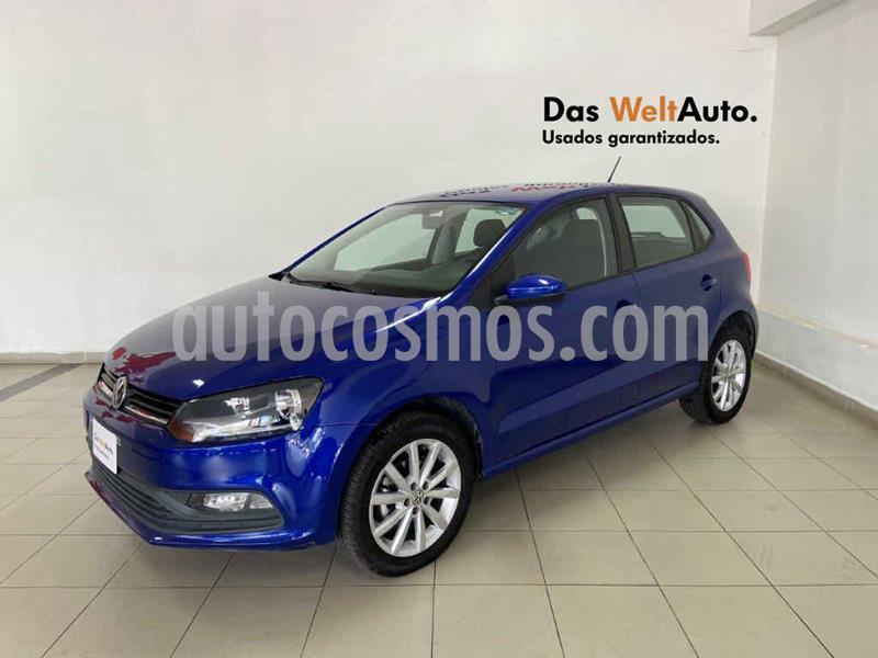Volkswagen Polo Disign & Sound Tiptronic usado (2019) color Azul precio $214,015