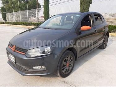 Volkswagen Polo 1.6L Base 4P usado (2017) color Gris Oscuro precio $155,000