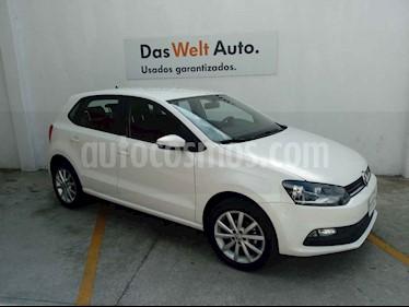 Volkswagen Polo 5p Design & Sound L4/1.6 Man usado (2019) color Blanco precio $215,000