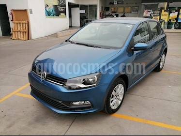 Volkswagen Polo 1.6L Comfortline 4P  usado (2018) color Azul precio $190,000