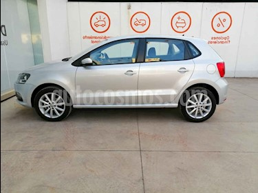foto Volkswagen Polo 5p Design & Sound L4/1.6 Man usado (2019) color Plata precio $226,000