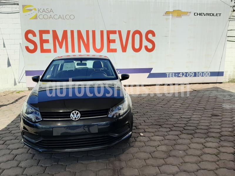 Volkswagen Polo 1.6L Base 4P usado (2019) color Gris precio $185,000
