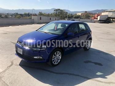 Volkswagen Polo 1.6L Comfortline 4P  usado (2019) color Azul precio $225,000
