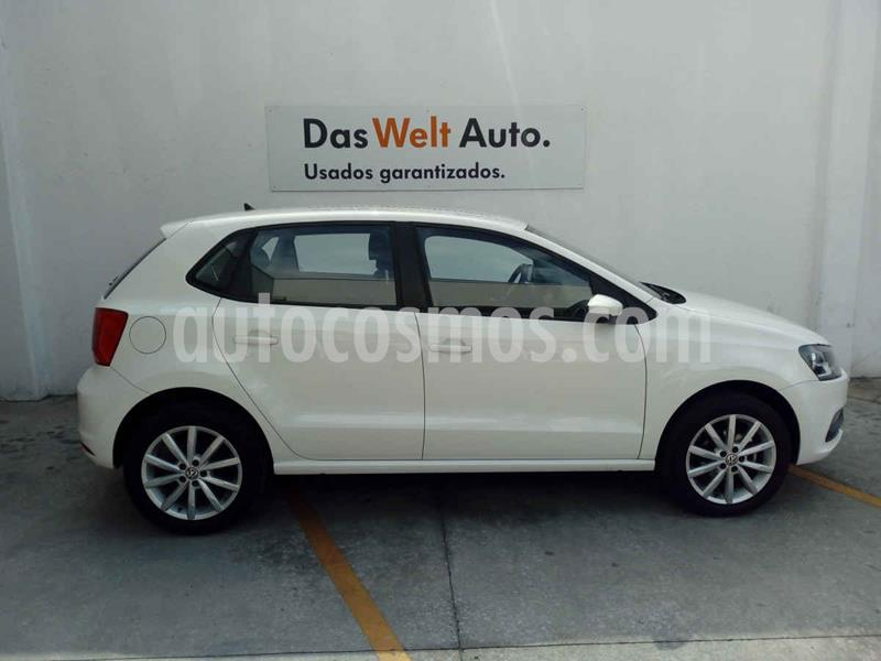 Volkswagen Polo Disign & Sound Tiptronic usado (2019) color Blanco precio $220,000