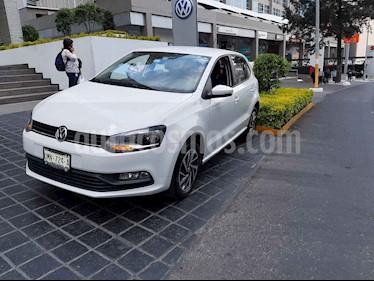 Volkswagen Polo 1.6L Base 5P usado (2018) color Blanco precio $185,000