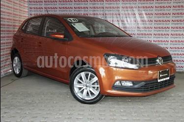 Volkswagen Polo 1.6L Base 5P Ac usado (2018) color Naranja precio $179,000