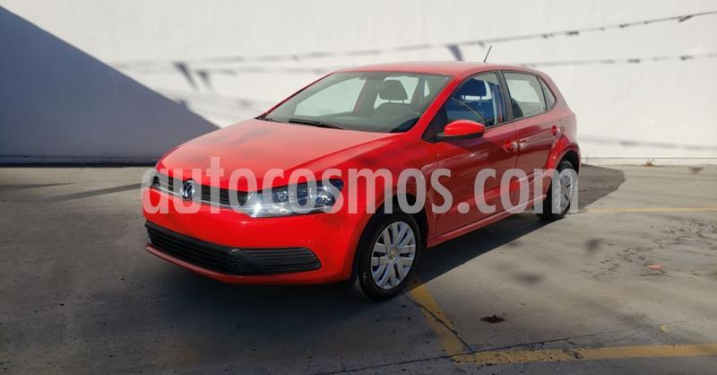 Volkswagen Polo 1.6L Base 4P usado (2019) color Rojo precio $162,900