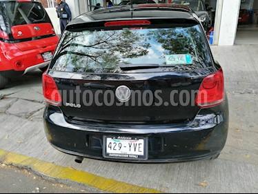 Volkswagen Polo 1.6L Comfortline 4P  usado (2013) color Negro precio $118,000