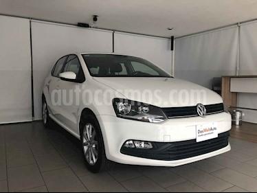 Volkswagen Polo 5p Design & Sound L4/1.6 Man usado (2019) color Blanco precio $205,000