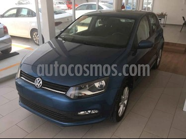 Volkswagen Polo 5p Design & Sound L4/1.6 Aut usado (2019) color Azul precio $219,000