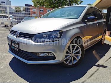 Volkswagen Polo 1.6L Base 5P usado (2018) color Plata precio $235,000
