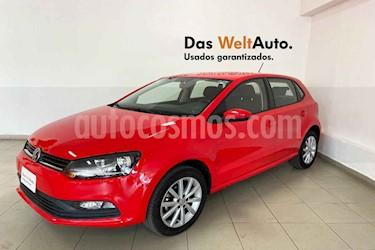 Volkswagen Polo 5p Design & Sound L4/1.6 Man usado (2019) color Rojo precio $211,796