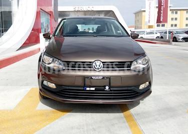 Volkswagen Polo 1.6L Base 4P usado (2018) color Marron precio $178,000