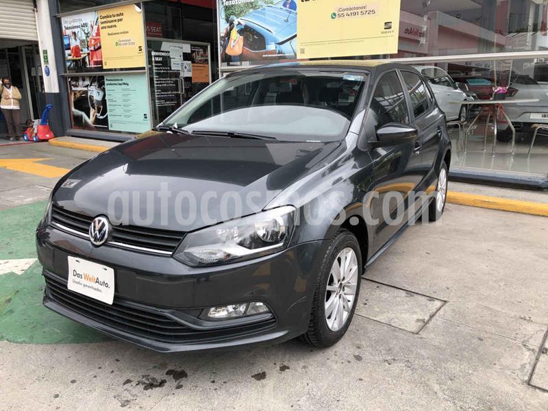 Volkswagen Polo 1.6L usado (2018) color Gris precio $169,990