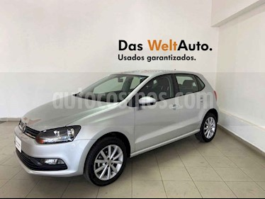 Volkswagen Polo 5p Design & Sound L4/1.6 Man usado (2019) color Plata precio $219,995