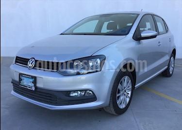 Volkswagen Polo 5P L4/1.6 MAN usado (2017) color Plata precio $160,000
