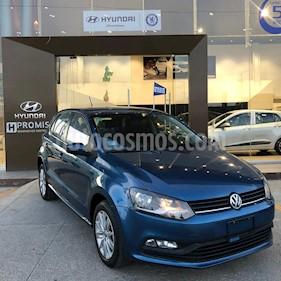 Volkswagen Polo 1.6L Comfortline 4P  usado (2018) color Azul precio $200,000