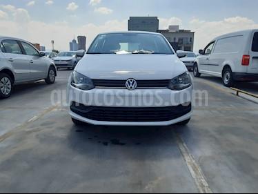 Volkswagen Polo 1.6L Base 5P usado (2018) color Blanco precio $165,000