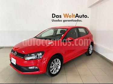 Volkswagen Polo 5p Design & Sound L4/1.6 Man usado (2019) color Rojo precio $209,921