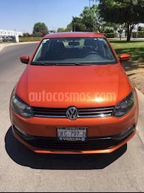 Volkswagen Polo 1.6L Comfortline 5P usado (2015) color Naranja precio $135,000