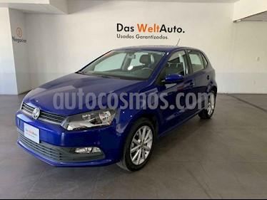 Volkswagen Polo 5p Design & Sound L4/1.6 Aut usado (2019) color Azul precio $226,000