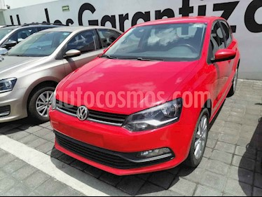 Volkswagen Polo Disign & Sound Tiptronic usado (2019) color Rojo precio $230,000