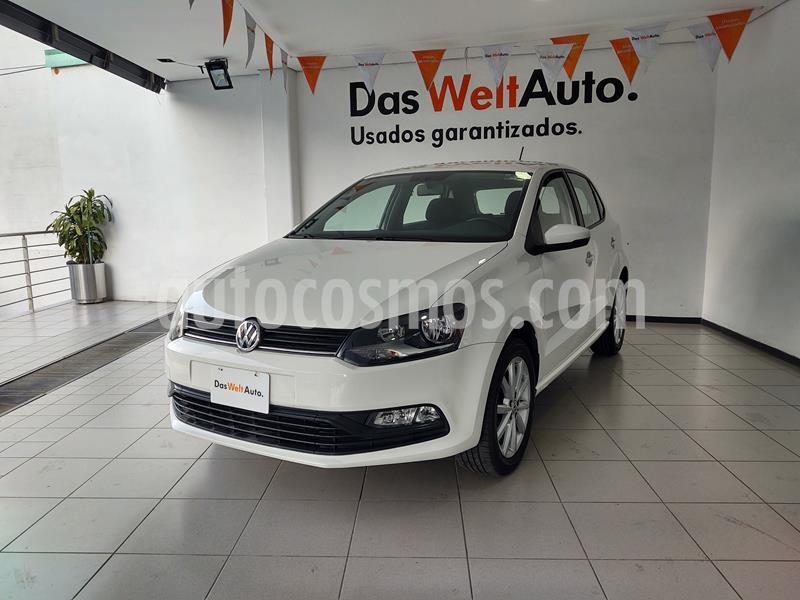 Volkswagen Polo 1.6L Comfortline 5P usado (2020) color Blanco precio $219,000