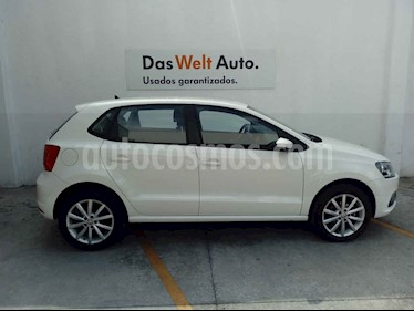 Volkswagen Polo 5p Design & Sound L4/1.6 Man usado (2019) color Blanco precio $220,000