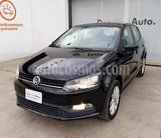 Volkswagen Polo 1.6L Base 4P Ac usado (2019) color Negro precio $236,990