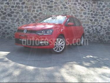 Volkswagen Polo 1.6L Comfortline 5P usado (2019) color Rojo precio $230,000